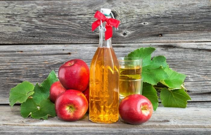 Яблочный уксус для лица от пятен